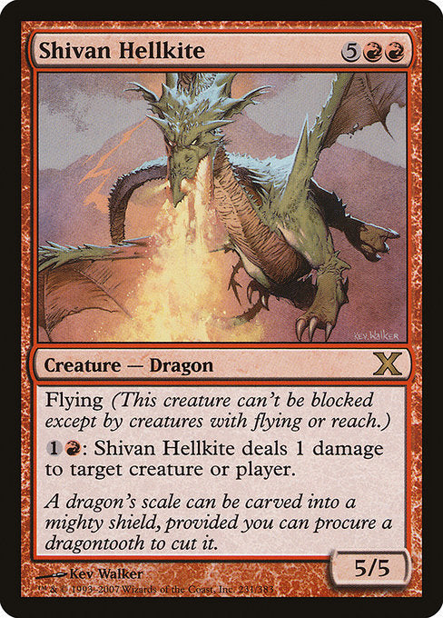 Shivan Hellkite [Tenth Edition] | Emerald Dragon Games