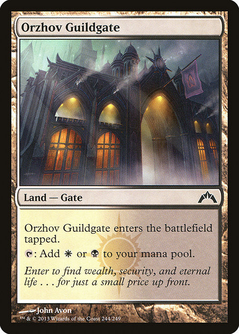 Orzhov Guildgate [Gatecrash] | Emerald Dragon Games