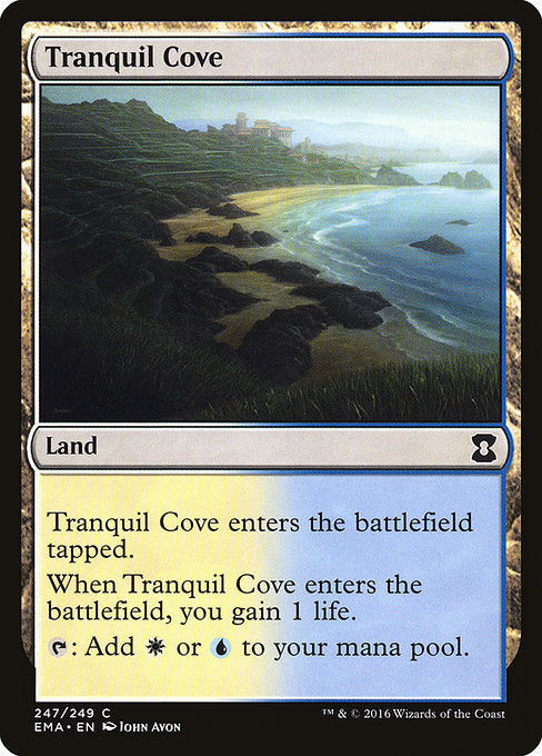 Tranquil Cove [Eternal Masters] | Emerald Dragon Games