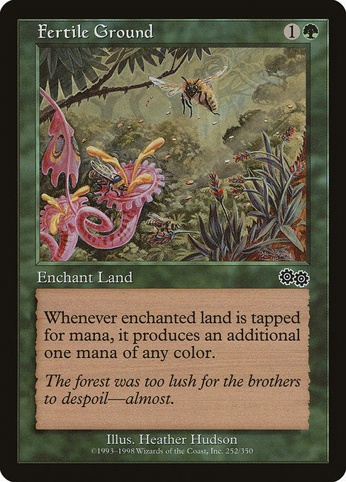 Fertile Ground [Urza's Saga] | Emerald Dragon Games