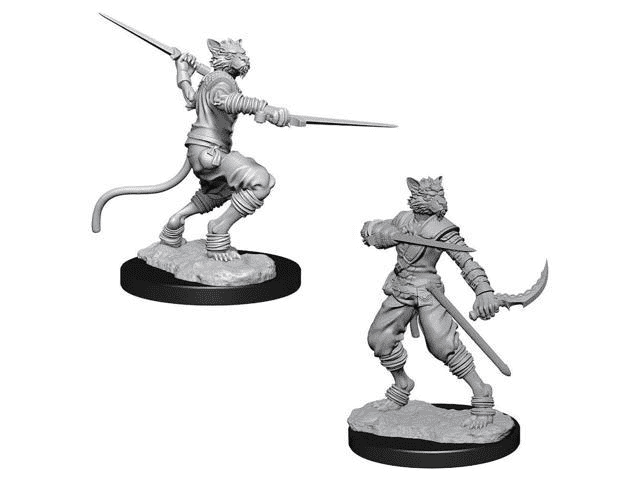 Dungeons & Dragons Nolzur's Marvelous Unpainted Miniatures: TABAXI ROGUE