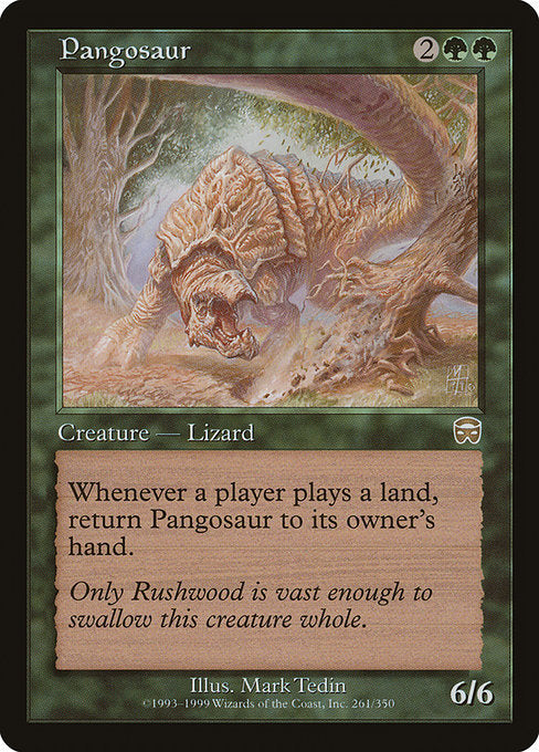 Pangosaur [Mercadian Masques] | Emerald Dragon Games