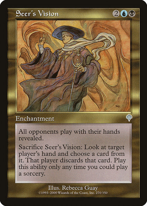 Seer's Vision [Invasion] | Emerald Dragon Games