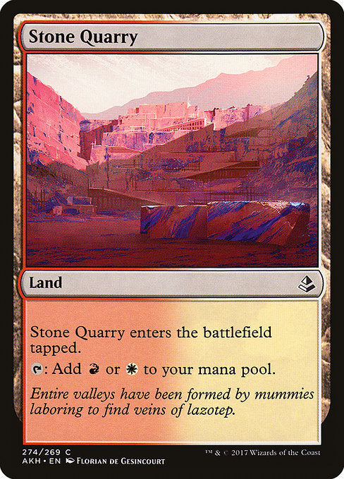 Stone Quarry [Amonkhet] | Emerald Dragon Games