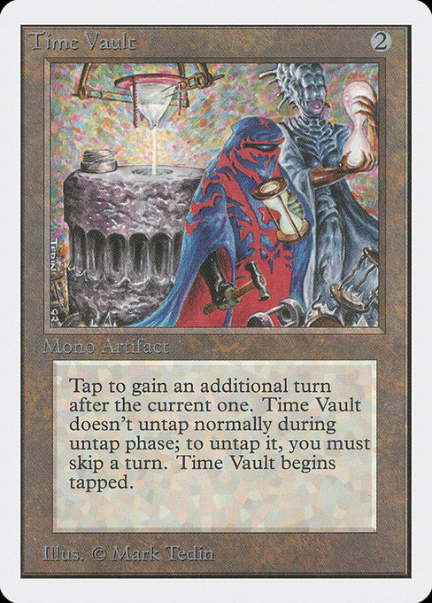 Time Vault [Unlimited Edition] | Emerald Dragon Games