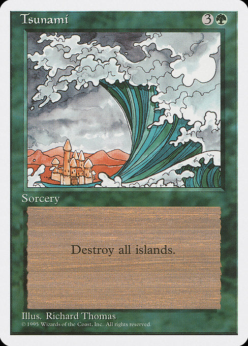 Tsunami [Fourth Edition] | Emerald Dragon Games