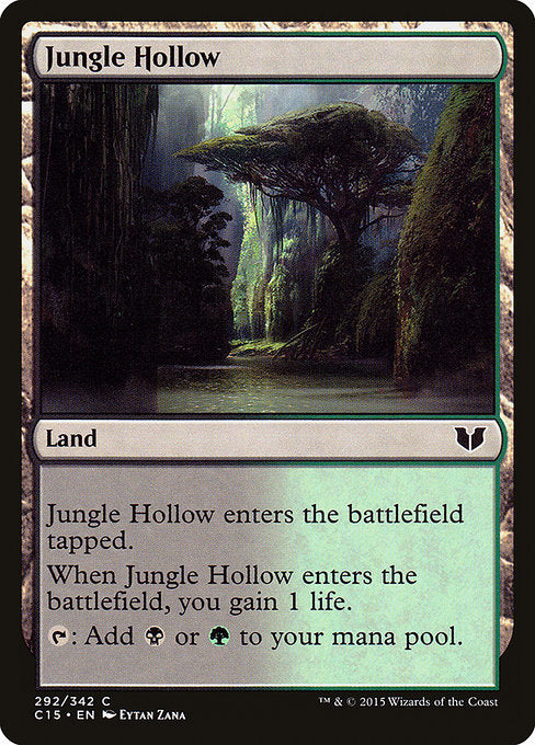 Jungle Hollow [Commander 2015] | Emerald Dragon Games