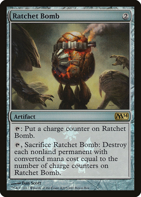 Ratchet Bomb [Magic 2014 Promos] | Emerald Dragon Games