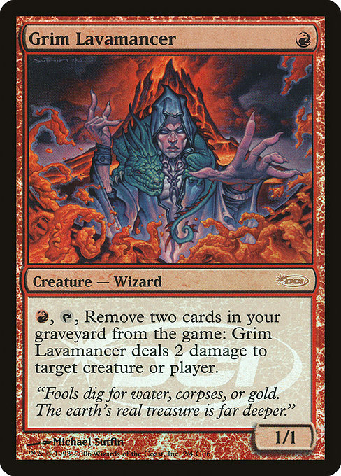 Grim Lavamancer [Judge Gift Cards 2006]