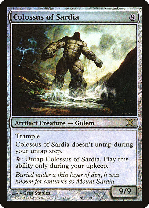 Colossus of Sardia [Tenth Edition] | Emerald Dragon Games