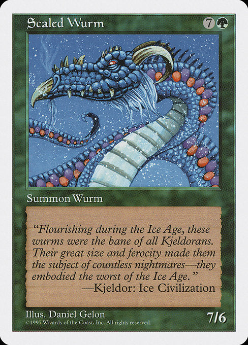 Scaled Wurm [Fifth Edition] | Emerald Dragon Games