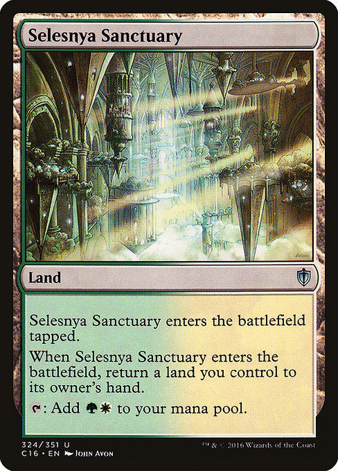 Selesnya Sanctuary [Commander 2016] | Emerald Dragon Games