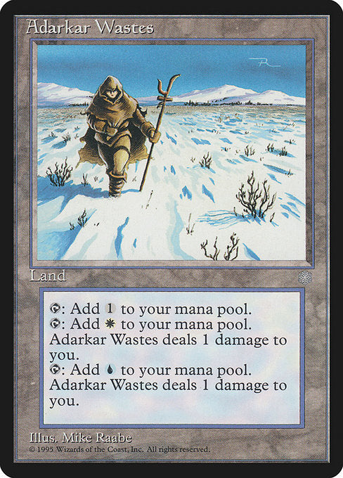 Adarkar Wastes [Ice Age] | Emerald Dragon Games