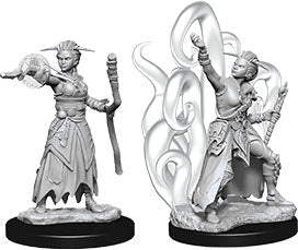 D&D Nolzur`s Marvelous Unpainted Miniatures: W10 Female Human Warlock | Emerald Dragon Games