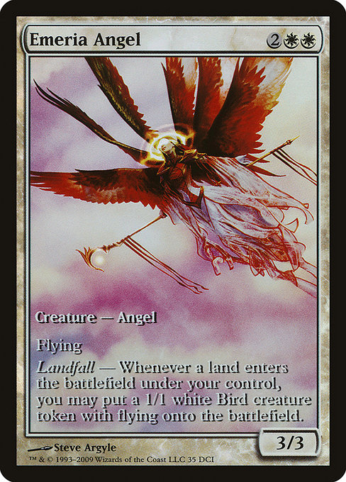 Emeria Angel [Zendikar Promos] | Emerald Dragon Games