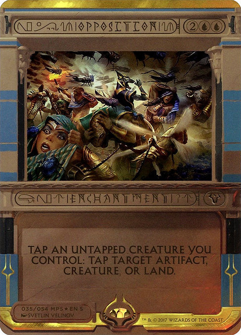 Opposition [Amonkhet Invocations] | Emerald Dragon Games