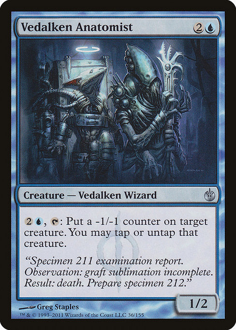 Vedalken Anatomist [Mirrodin Besieged] | Emerald Dragon Games