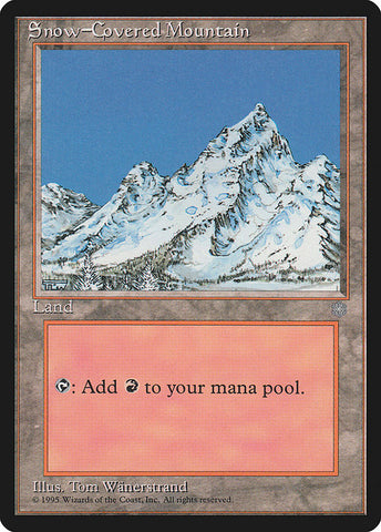 Snow-Covered Mountain [Ice Age]