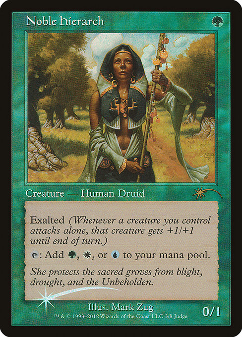 Noble Hierarch [Judge Gift Cards 2012] | Emerald Dragon Games