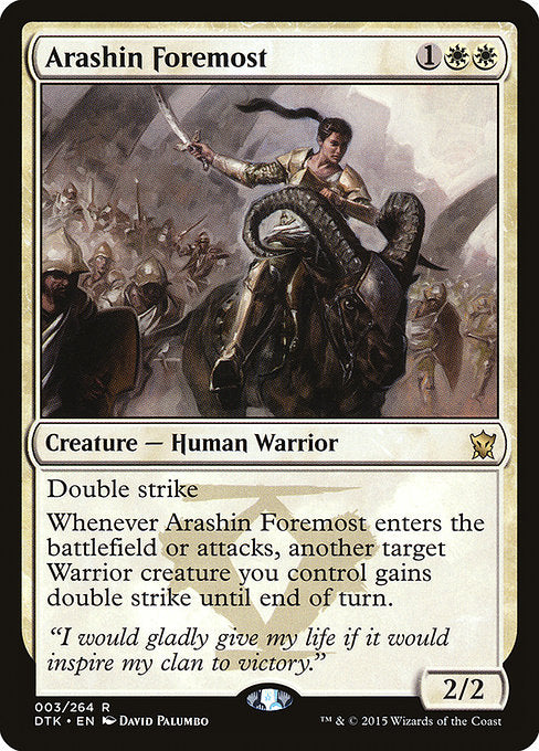 Arashin Foremost [Dragons of Tarkir]