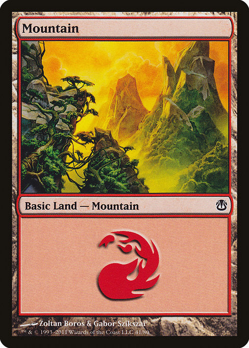 Mountain [Duel Decks: Ajani vs. Nicol Bolas] | Emerald Dragon Games