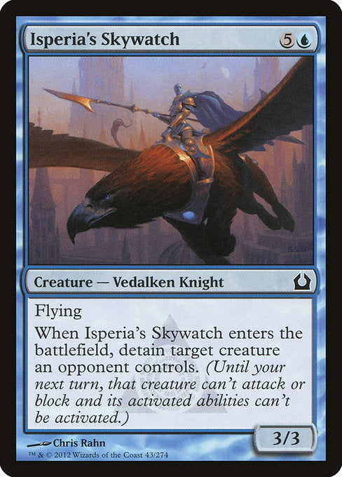 Isperia's Skywatch [Return to Ravnica] | Emerald Dragon Games