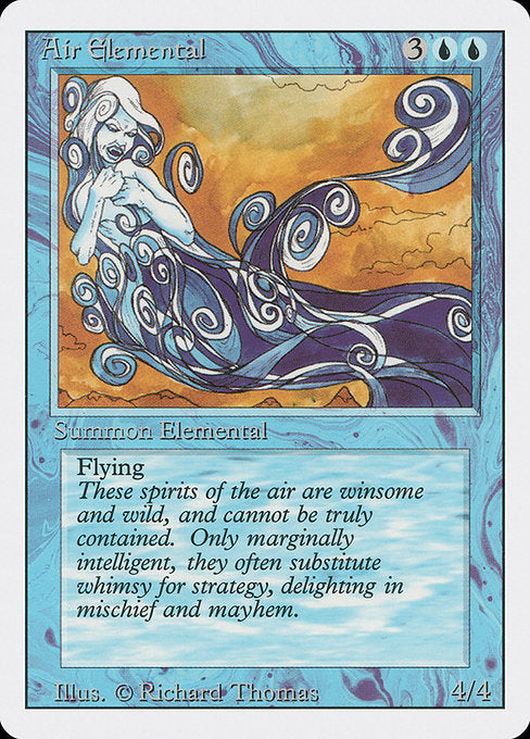 Air Elemental [Revised Edition] | Emerald Dragon Games