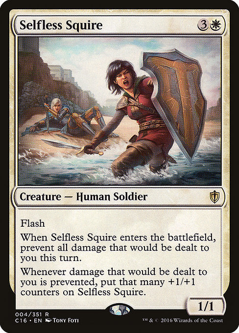 Selfless Squire [Commander 2016] | Emerald Dragon Games