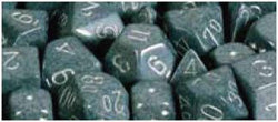 7CT SPECKLED POLY HI-TECH DICE SET