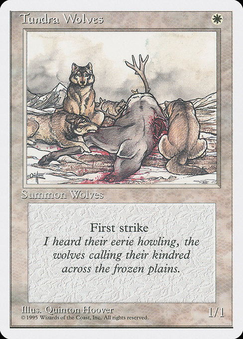 Tundra Wolves [Fourth Edition] | Emerald Dragon Games