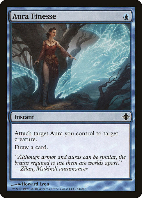 Aura Finesse [Rise of the Eldrazi]