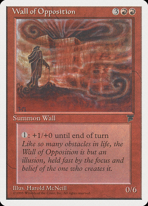 Wall of Opposition [Chronicles] | Emerald Dragon Games