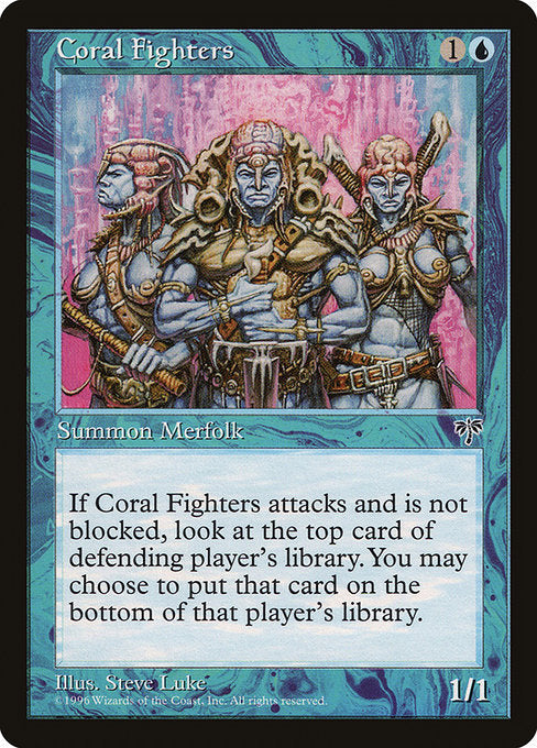 Coral Fighters [Mirage] | Emerald Dragon Games