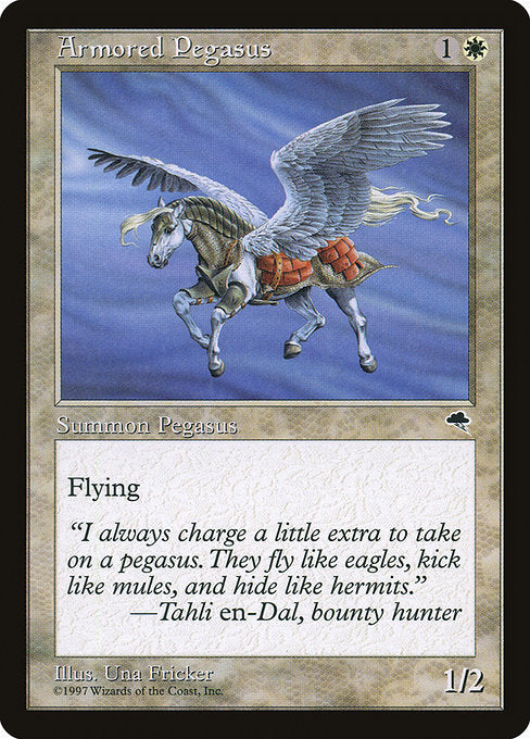 Armored Pegasus [Tempest] | Emerald Dragon Games