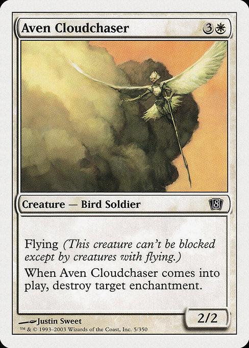 Aven Cloudchaser [Eighth Edition] | Emerald Dragon Games