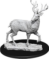 WizKids Deep Cuts Unpainted Miniatures: W7 Stag | Emerald Dragon Games