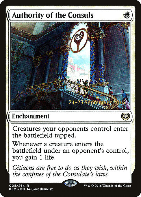 Authority of the Consuls [Kaladesh Promos]
