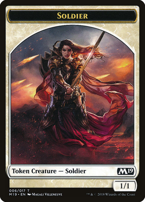 Soldier [Core Set 2019 Tokens] | Emerald Dragon Games