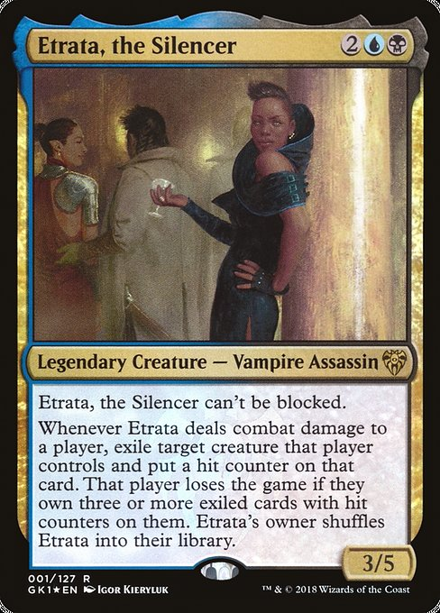 Etrata, the Silencer [GRN Guild Kit]