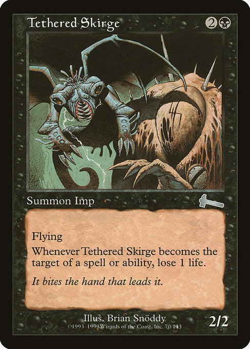 Tethered Skirge [Urza's Legacy] | Emerald Dragon Games
