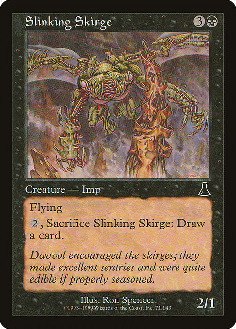 Slinking Skirge [Urza's Destiny] | Emerald Dragon Games