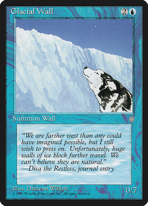 Glacial Wall [Ice Age] | Emerald Dragon Games