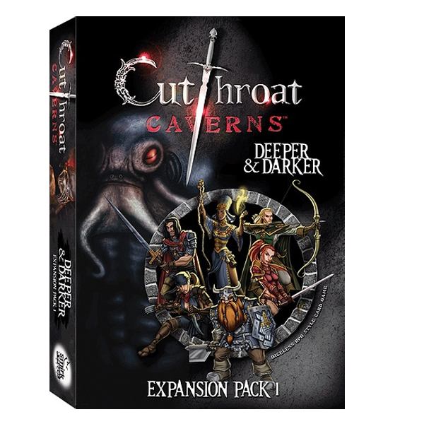 Cutthroat Caverns: Deeper and Darker Expansion 1 | Emerald Dragon Games