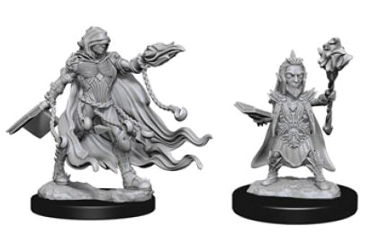 Pathfinder Deep Cuts Unpainted Miniatures: W2 Evil Wizards