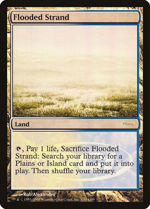 Flooded Strand [Judge Gift Cards 2009] | Emerald Dragon Games