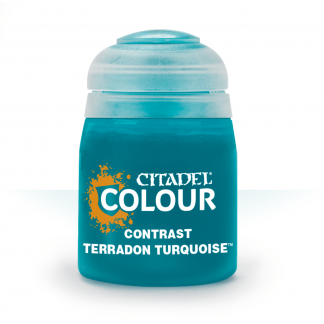 Terradon Turquoise Contrast Paint | Emerald Dragon Games