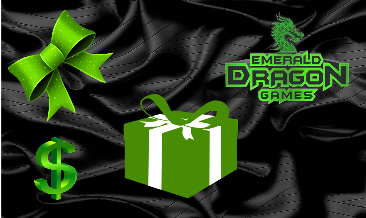 Gift Cards | Emerald Dragon Games