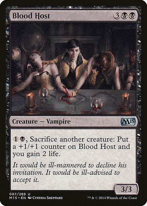 Blood Host [Magic 2015]