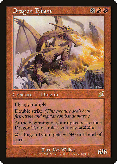 Dragon Tyrant [Scourge] | Emerald Dragon Games