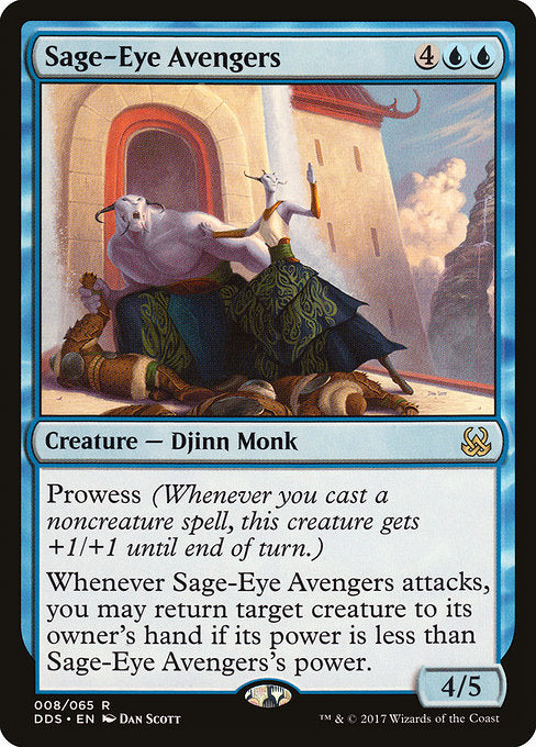 Sage-Eye Avengers [Duel Decks: Mind vs. Might]